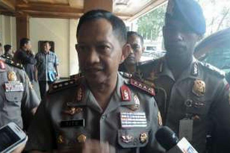 Kapolri jenderal Tito Karnavian saat ditemui di Kemenko Polhukam, Rabu (3/8/2016).