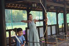 Maya Septha dan Anak-anaknya Berlatih Jadi