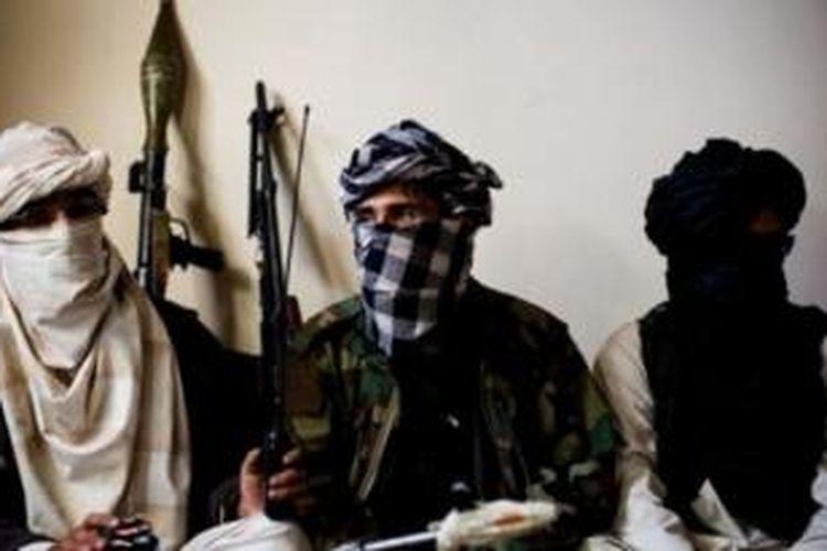Pasukan Taliban.