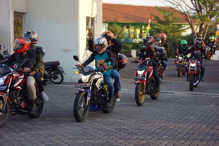 Jambore Nasional Asosiasi StreetFire Indonesia (ASFI) di Hotel The Radiant, Cirebon, Jawa Barat, Sabtu (17/8/2019).