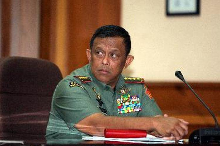 Panglim TNI DJoko Santoso