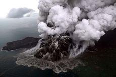 Volume Runtuhan Gunung Anak Krakatau Desember 2018 Kecil, tapi Merusak