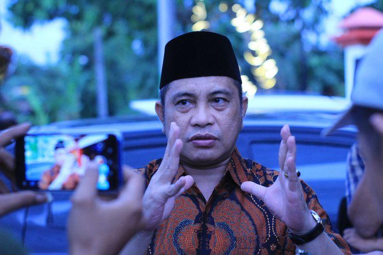 Anggota Komisi VI DPR RI, Marwan Jafar saat resesdi Aula MTs Roudhotulfalah Desa Sitiluhur, Kecamatan Gembong, KabupatenPati, Jawa Tengah, Rabu (11/3/2020).