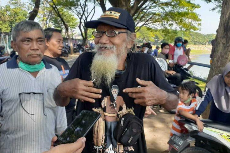 Inilah Mbah Sukir, kakek spesialis pencari korban tenggelam di sungai dan telaga asal Kota Madiun