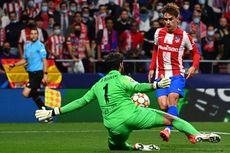 HT Atletico Madrid Vs Liverpool - Griezmann Cetak Brace, Skor Imbang 2-2