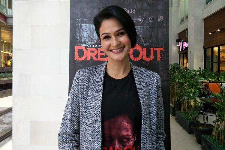 Rima Melati Adams saat ditemui di kawasan Kuningan, Jakarta Selatan, Kamis (17/1/2019).