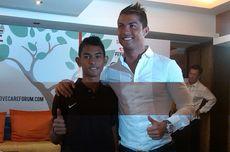 Menit Akhir Lelang Jersey Ronaldo, Angka Tertinggi Rp 75 Juta