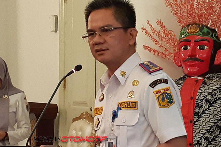 Kepala Dinas Perhubungan (Kadishub) DKI Jakarta Syafrin Liputo