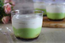 Resep Jongkong Bangka, Kue dalam Gelas Mirip Bubur Sumsum