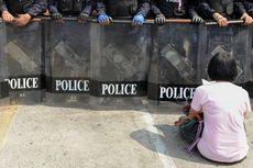 Polisi Thailand Bongkar Tenda Pengunjuk Rasa