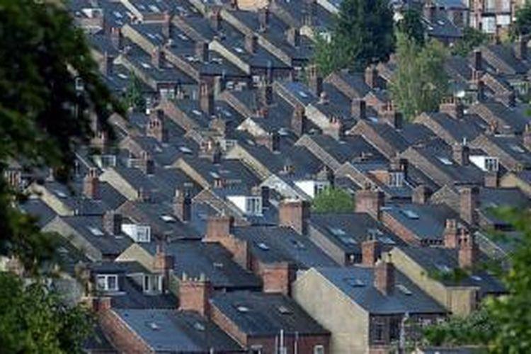 Inggris kekurangan hunian, namun ada 1,1 juta rumah justru dibiarkan kosong.