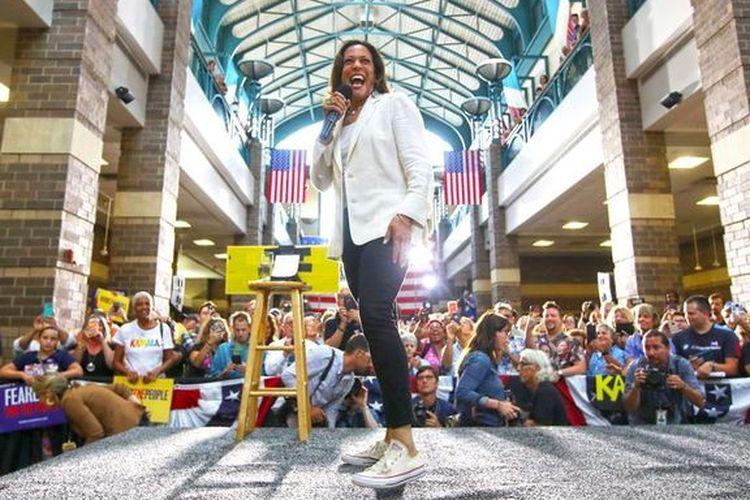Wakil Presiden AS terpilih, Kamala Harris.