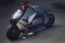 Skutik Listik BMW Berdesain Futuristik