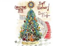 Dolce & Gabbana Terpilih Jadi Desainer Pohon Natal Claridge