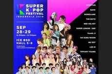 Ada Lee Hi hingga Tiffany Young, Cek Harga Tiket Super Kpop Festival Indonesia 2019