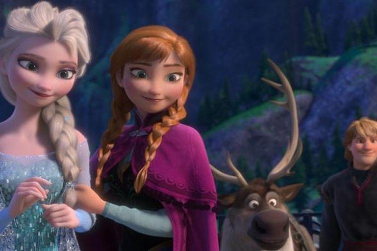 Demam film animasi Disney Frozen di tahun 2013 lalu menjadi pemicu diminatinya kembali nama Elsa.