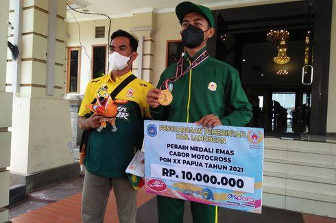 Atlet Lamongan Peraih Emas di PON Papua Dapat Bonus Rp 10 Juta, Perak Rp 7,5 Juta