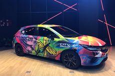 Kolaborasi 3 Karya Digital Warnai Eksterior City Hatchback RS