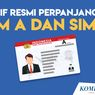 INFOGRAFIK: Tarif Resmi Perpanjangan SIM