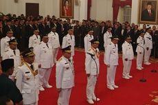 Presiden Jokowi Lantik 9 Gubernur dan Wagub Hasil Pilkada 2018