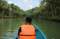 Menyusuri Sungai Maron di Pacitan, Sungai Amazon ala Jawa Timur