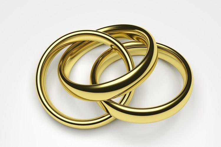 Ilustrasi poligami.