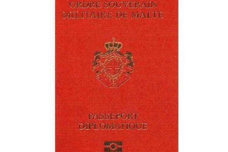 Paspor Orde Militer Berdaulat Malta.