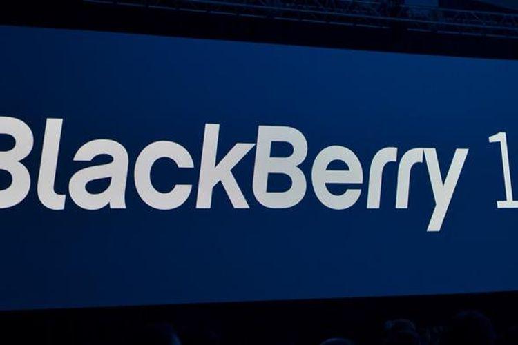 Ilustrasi sistem operasi BlackBerry 10
