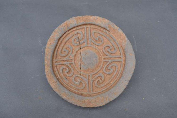 Stempel yang membuktikan bahwa makam tersebut adalah milik Kaisar Liu Zhi.