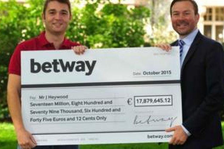 Pria Inggris mendapatkan Rp 275 miliar dari taruhan kasino online.