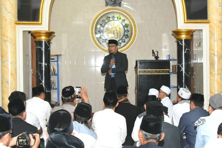 "Ridwan Kamil Ajak Ulama Kabupaten Bandung Barat Ikut Berdakwah di ""English for Ulama"" 2020"
