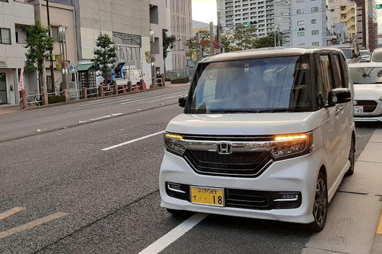 ilustrasi kei-car di Jepang