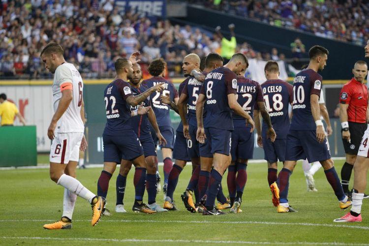 PSG berhasil mengalahkan AS Roma lewat adu penalti pada ICC 2017.