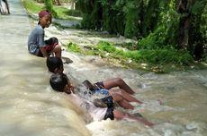 Tanggul Jebol karena Hujan Semalaman, Ribuan Rumah di Brebes Terendam Banjir
