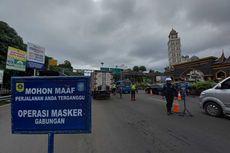 Tanpa Surat Hasil Rapid Antigen, Kendaraan Wisatawan Tidak Diizinkan ke Puncak Bogor