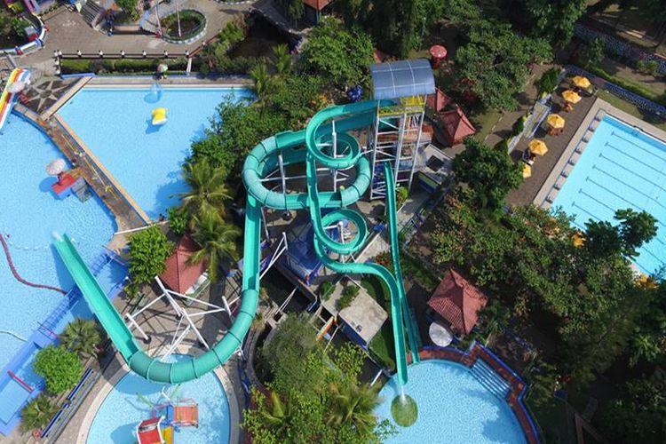 Owabong Waterpark, Purbalingga, Jawa Tengah.
