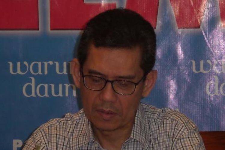 Direktur Indonesian Resources Marwan Batubara