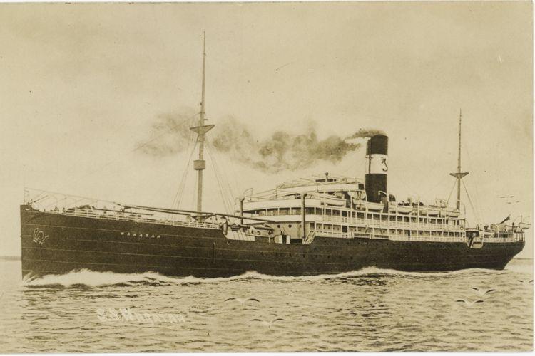 Kapal SS Waratah yang berlayar dari Australia menuju Inggris hilang di perairan selatan Australia pada Juli 1909