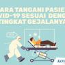 INFOGRAFIK: Cara Tangani Pasien Covid-19 Sesuai Tingkat Gejalanya