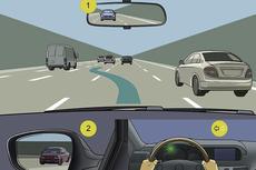 Jarak Aman Kendaraan Nyalakan Lampu Sein Sebelum Belok atau Pindah Jalur