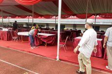 Antisipasi Lonjakan Covid -19, Dinkes Kota Bekasi Tambah 1 Hall Isolasi di Stadion Patriot