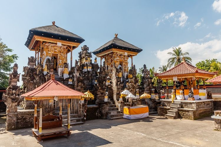 Altar di Pura Dalem Jagaraga, Buleleng, Bali.