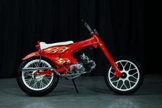 Honda Astrea 800 Choppy Cub dengan Referensi Bosozoku