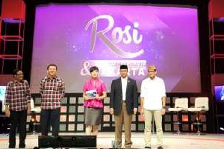 Pasangan kadidat gubernur DKI Jakarta nomor 2 Agus Yudhoyono dan Sylviana Murni tidak hadir dalam acara debat yang diselenggarakan Kompas TV, Kamis (15/12/2016). Sebelumnya, Agus juga tidak datang dalam acara yang sama di NET.TV.
