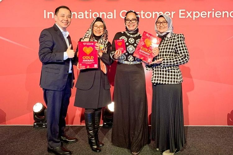 Dalam International CX Awards 2019, Telkom Sabet 3 Kategori Penghargaan