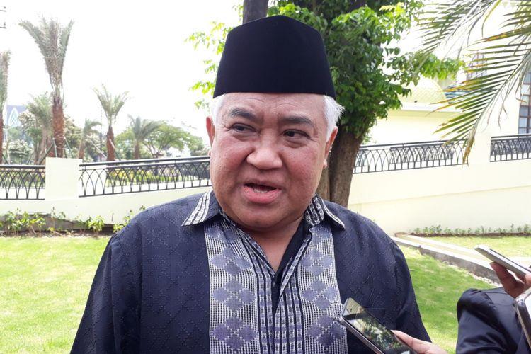 Ketua Dewan Pertimbangan MUI, Din Syamsudin