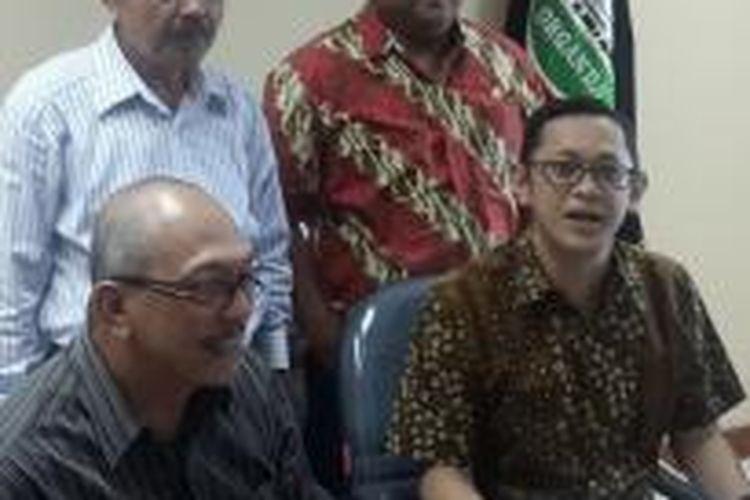 Ketua Umum DPP Organda Andri Yanto (kanan)