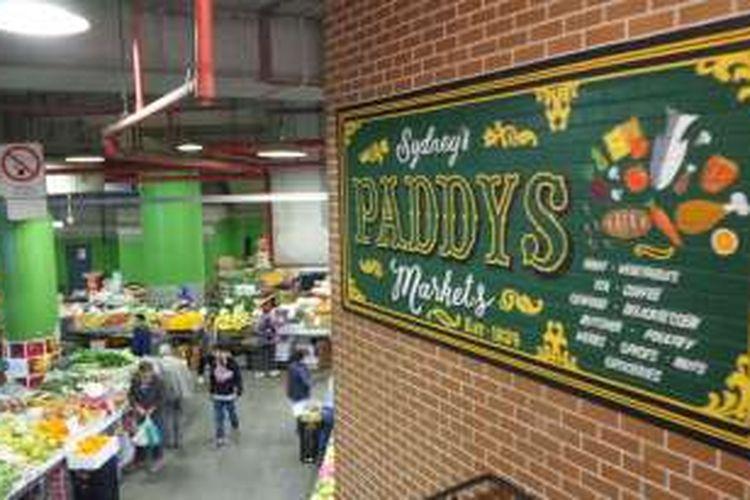Paddy's Market di kawasan China Town di Sydney, Australia.
