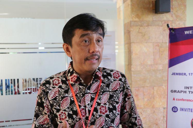 Wakil Rektor I Universitas Jember bidang Akademik, Kemahasiswaan dan Alumni, Prof Slamin