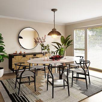 Ilustrasi ruang makan